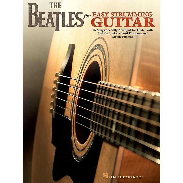 Hal LeonardThe Beatles For Easy Strumming Guitar