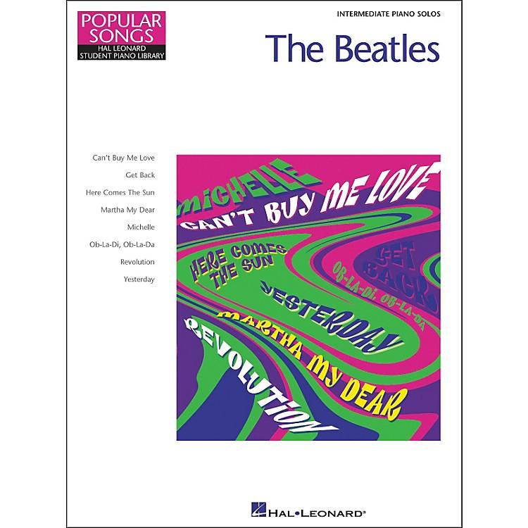 Hal LeonardThe Beatles Intermediate Piano Solos Popular Songs Hal Leonard Student Piano Library by Eugenie Rocherolle