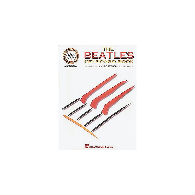 Hal Leonard The Beatles Keyboard Songbook