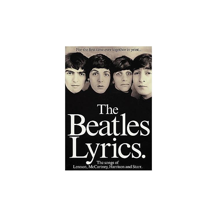 Hal LeonardThe Beatles Lyrics