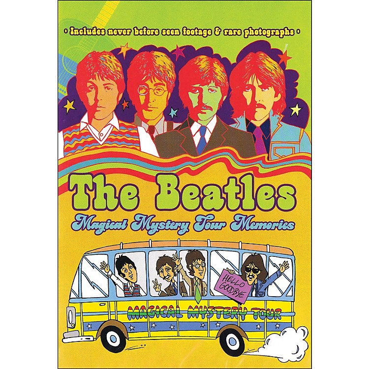 Hal LeonardThe Beatles Magical Mystery Tour Memories Rockumentary 1967 DVD