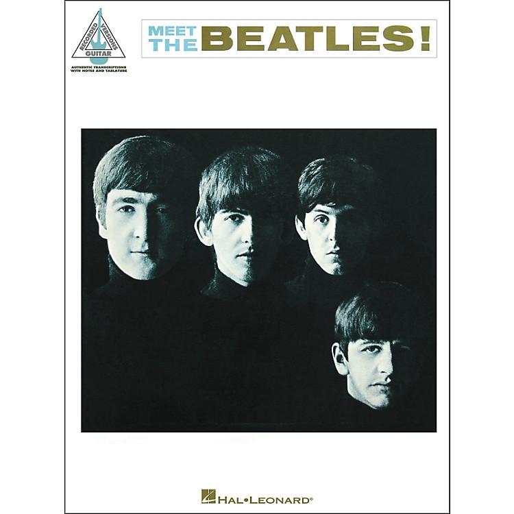 Hal LeonardThe Beatles -Meet The Beatles Guitar Tab Songbook