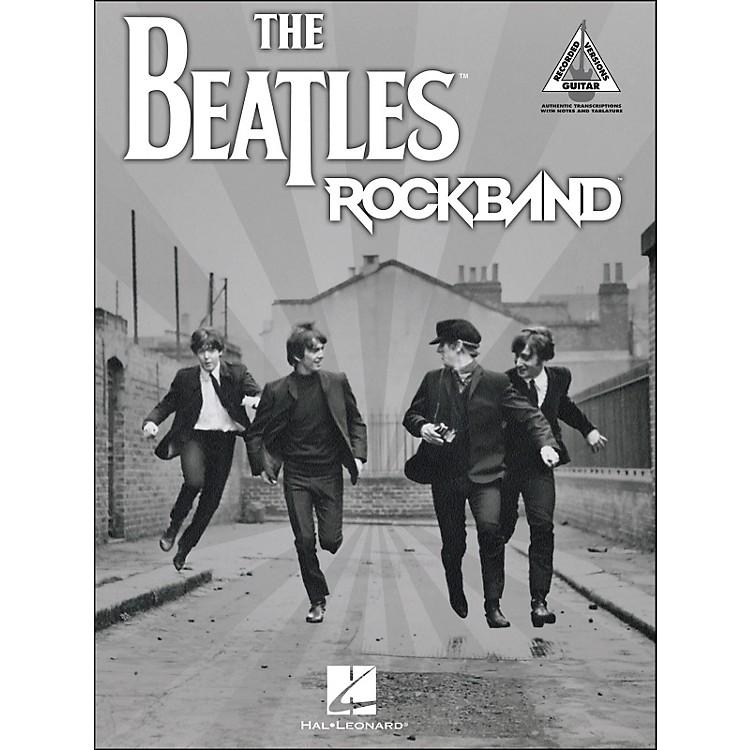 Hal LeonardThe Beatles Rock Band Tab Book