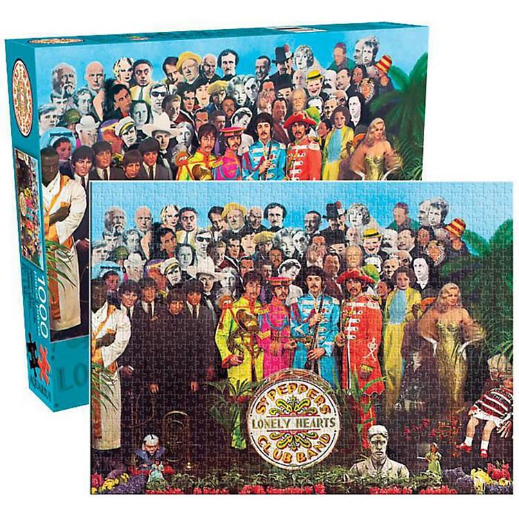 Hal LeonardThe Beatles  Sgt. Pepper 1000-Piece Jigsaw Puzzle