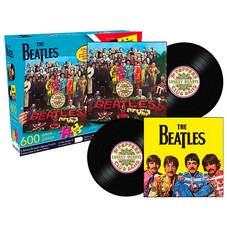 Hal Leonard The Beatles Sgt. Pepper's Lonely Hearts Club Band 1500-Piece Die Cut Puzzle
