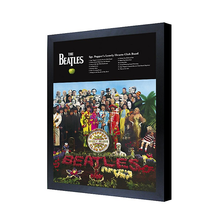 Ace FramingThe Beatles Sgt. Pepper's Lonely Hearts Club Band 3D Framed Poster