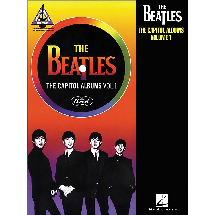 Hal LeonardThe Beatles: The Capitol Albums Volume 1 Tab Book