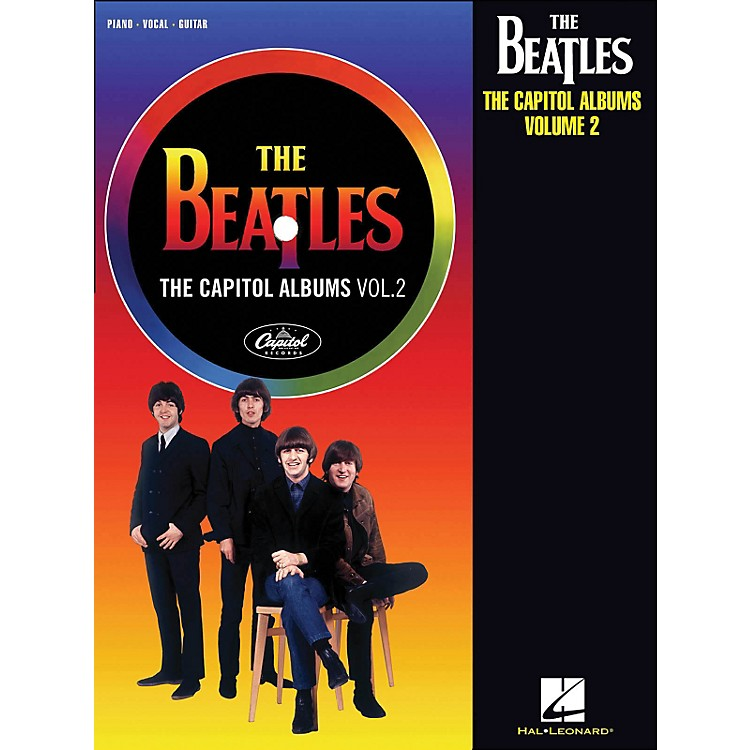 Hal Leonard The Beatles The Capitol Albums Volume 2 arranged for piano, vocal, and guitar (P/V/G)