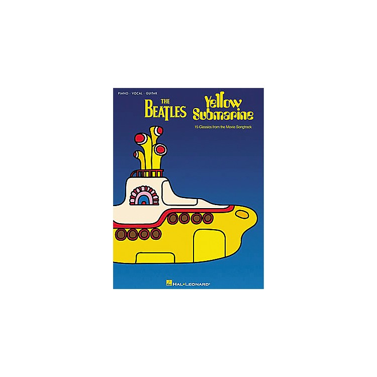 Hal Leonard The Beatles Yellow Submarine Piano, Vocal, Guitar Songbook