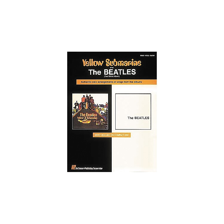 Hal Leonard The Beatles Yellow Submarine & The White Album Piano, Vocal, Guitar Songbook