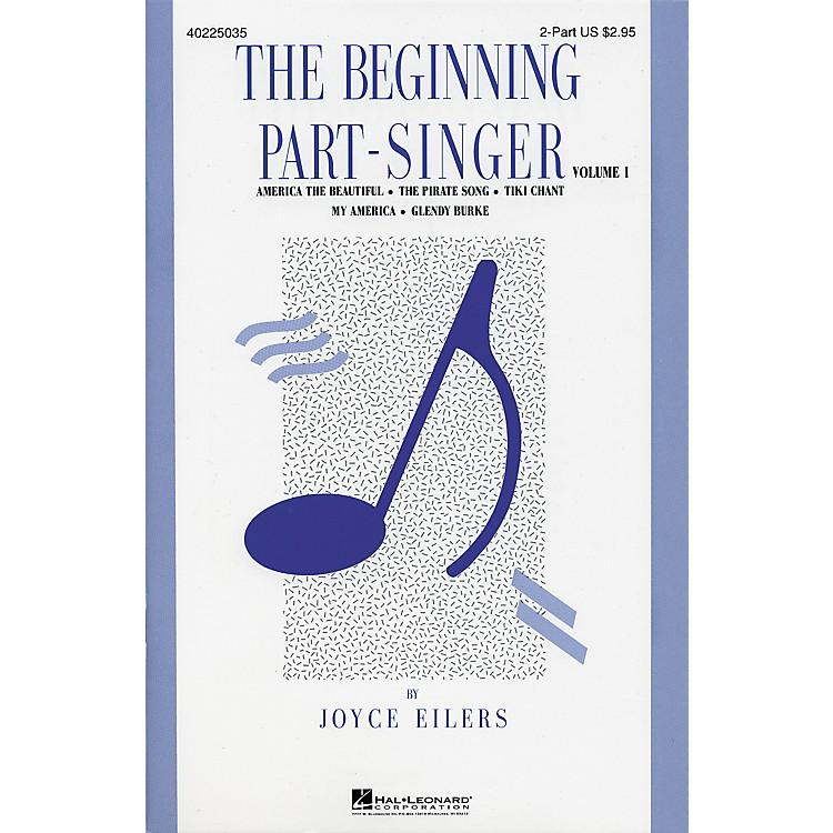 Hal LeonardThe Beginning Part Singer Volume 1