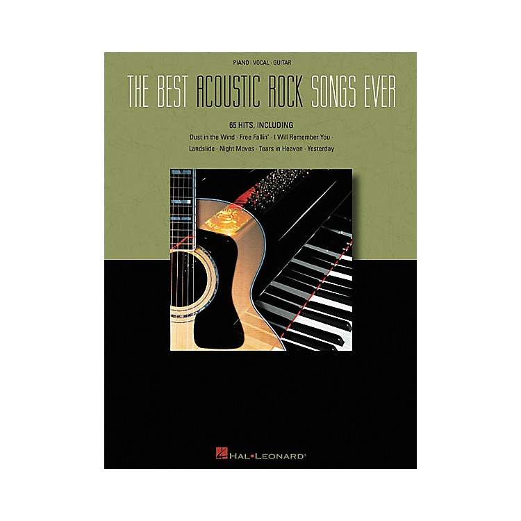 Hal LeonardThe Best Acoustic Rock Songs Ever Piano, Vocal, Guitar Songbook