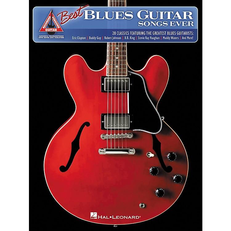 Hal LeonardThe Best Blues Guitar Songs Ever Guitar Tab Songbook