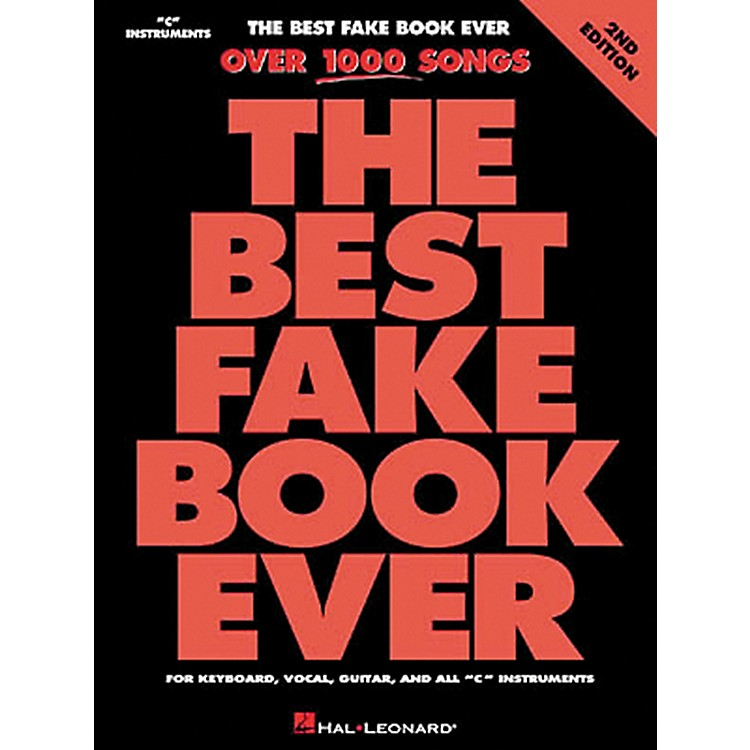 Hal Leonard The Best Fake Book Ever 4th Edition