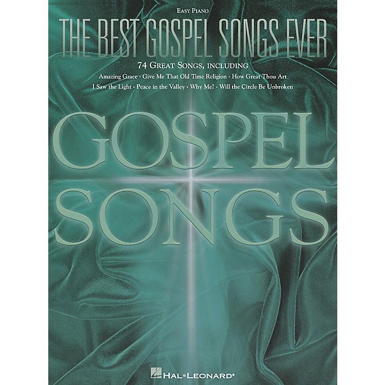 Hal LeonardThe Best Gospel Songs Ever For Easy Piano