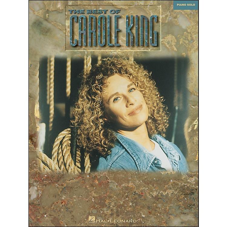 Hal LeonardThe Best Of Carole King arranged for piano solo
