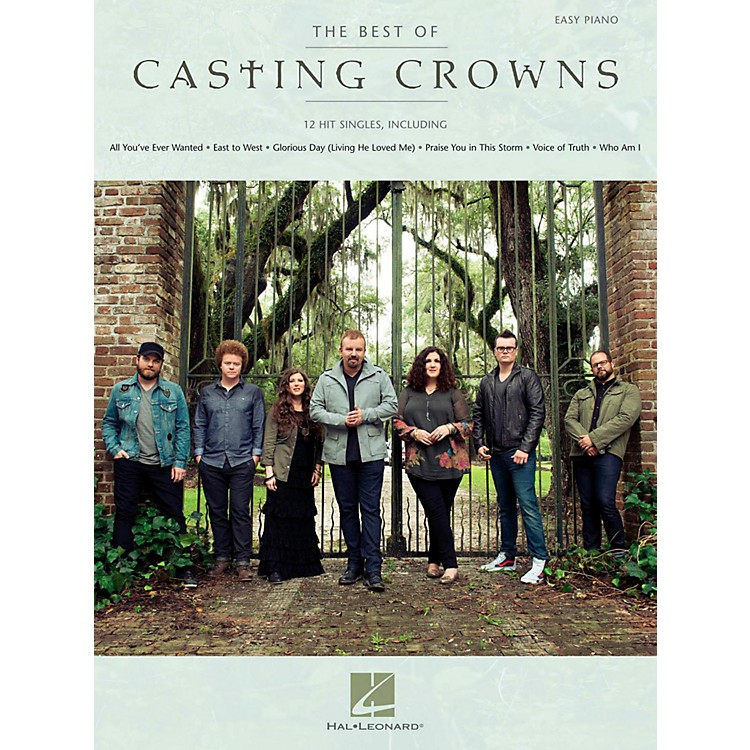 Hal LeonardThe Best Of Casting Crowns - Easy Piano