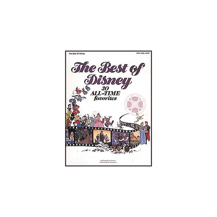 Hal LeonardThe Best Of Disney Piano/Vocal/Guitar Songbook