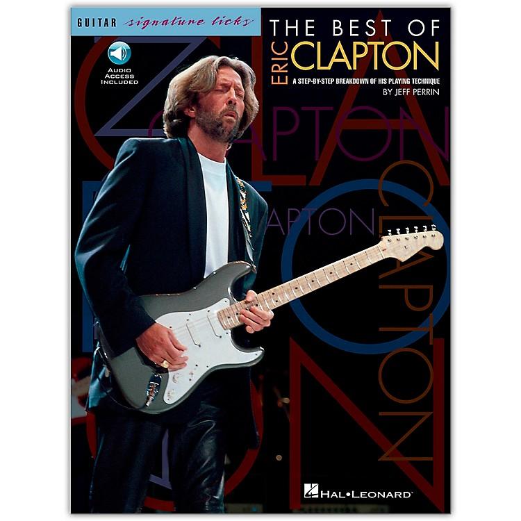 Hal LeonardThe Best Of Eric Clapton - Signature Licks Guitar Tab (Songbook/Online Audio)