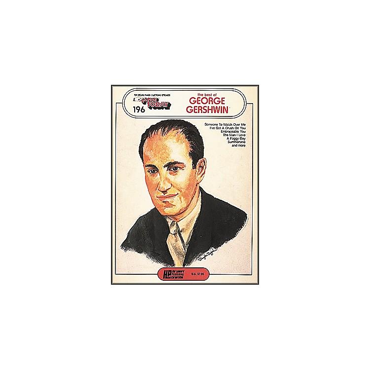Hal LeonardThe Best Of George Gershwin E-Z Play 196