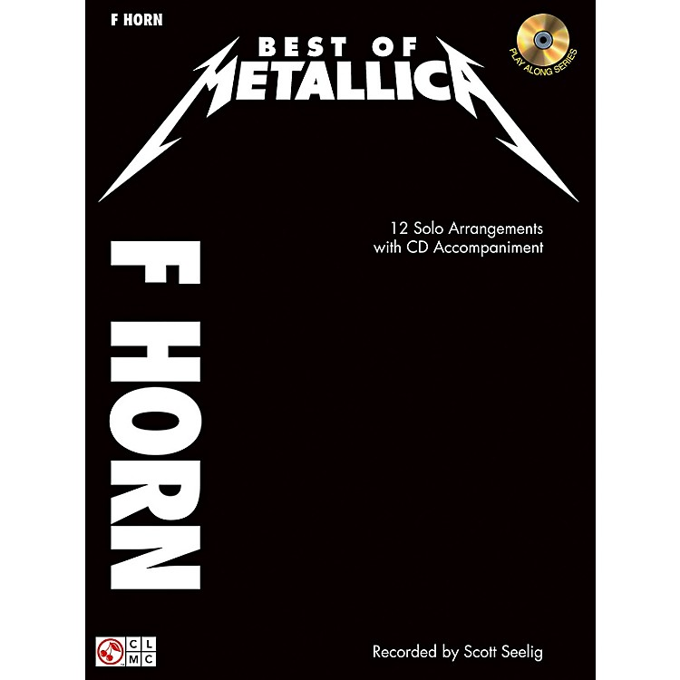 Cherry LaneThe Best Of Metallica for French Horn Book/CD