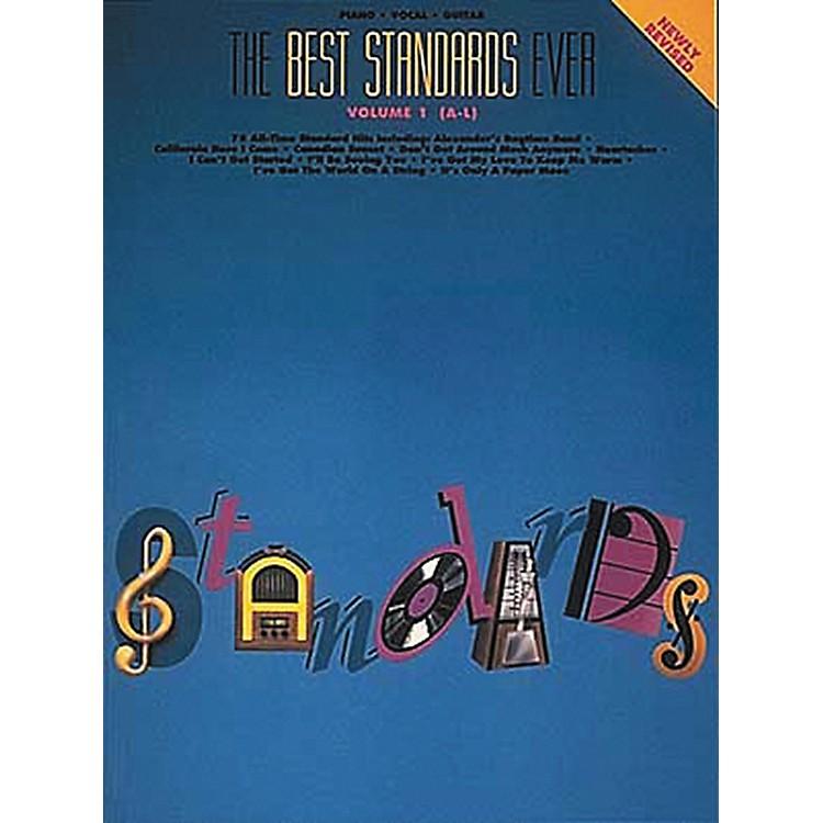Hal LeonardThe Best Standards Ever Volume 1 A-L Revised Piano, Vocal, Guitar Songbook