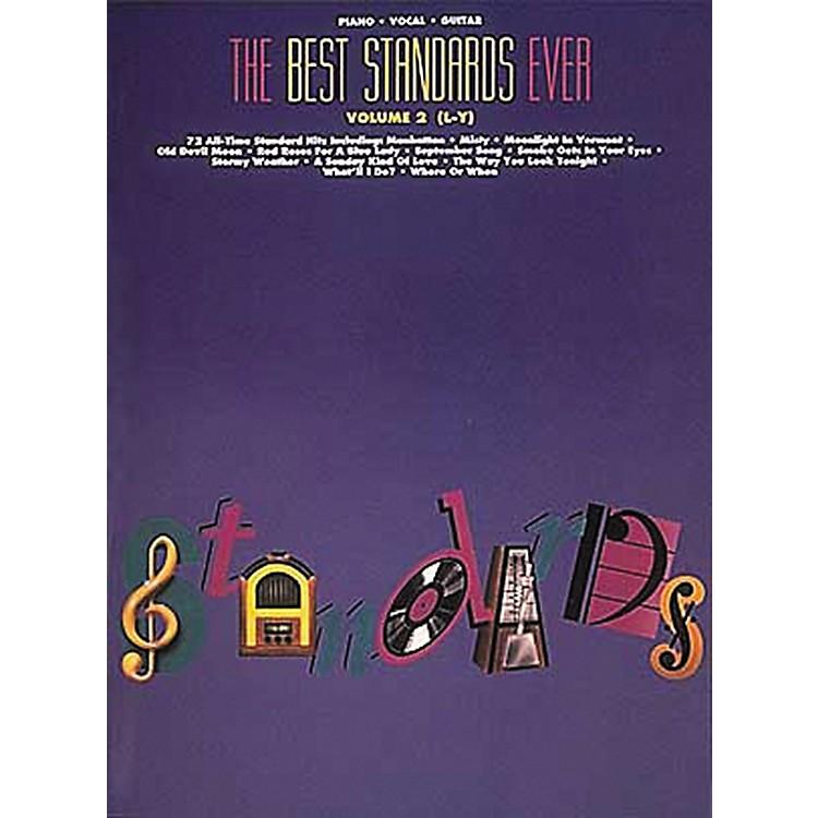 Hal LeonardThe Best Standards Ever Volume 2 M-Z Revised Piano, Vocal, Guitar Songbook