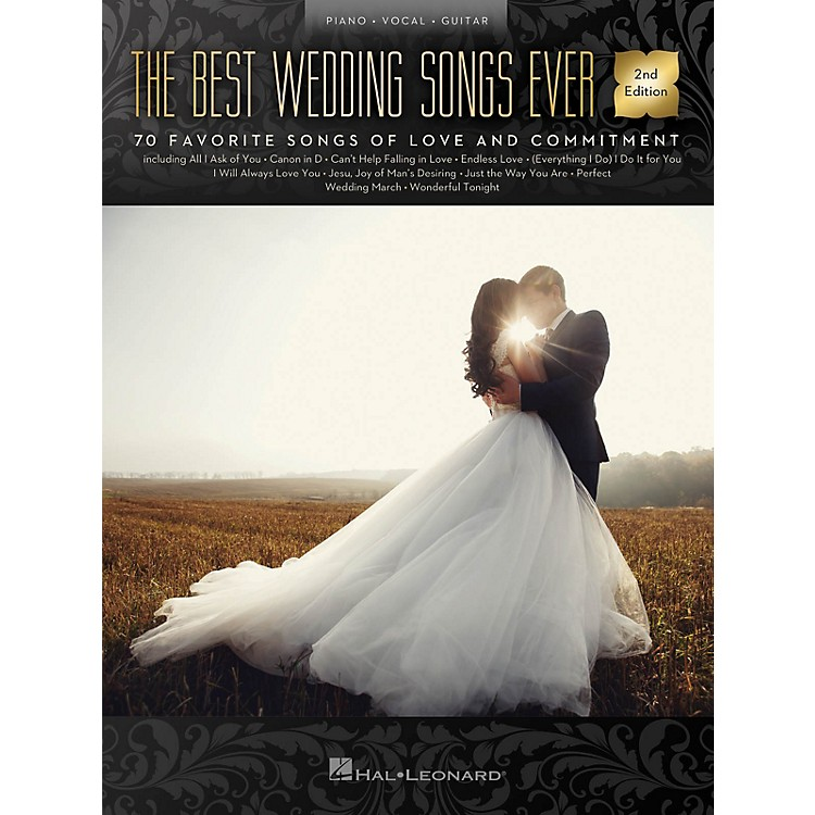 Hal LeonardThe Best Wedding Songs Ever - 2nd Edition Piano/Vocal/Guitar Songbook