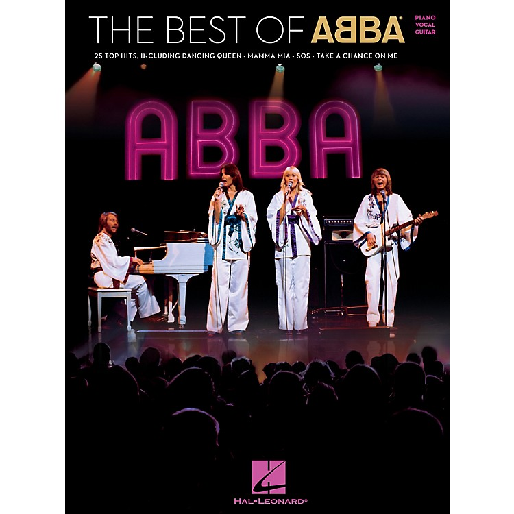 Hal LeonardThe Best of ABBA Piano/Vocal/Guitar Songbook
