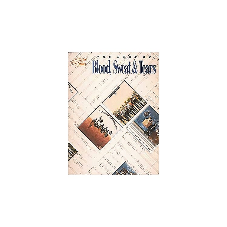 Hal LeonardThe Best of Blood, Sweat and Tears Transcribed Scores Book