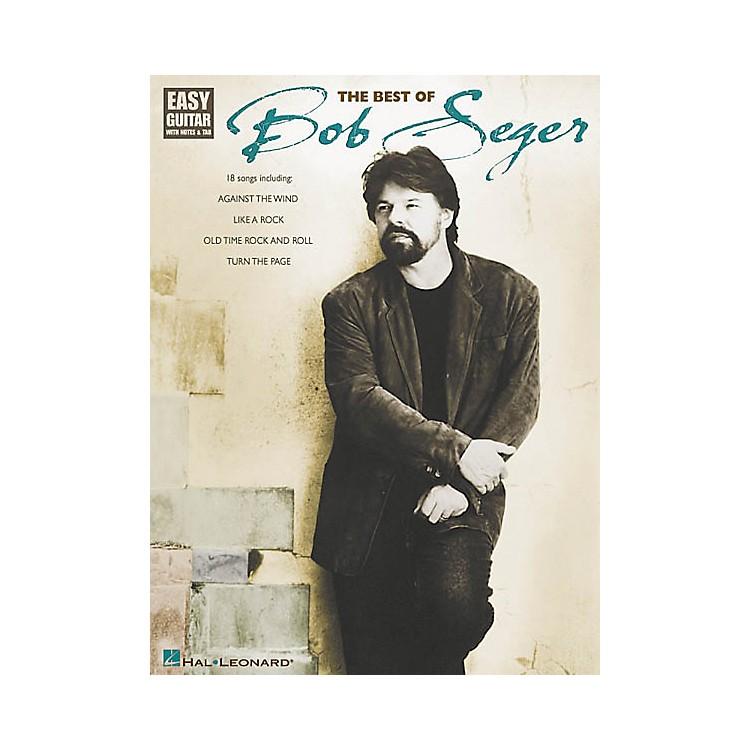 Hal LeonardThe Best of Bob Seger Easy Guitar (Book)