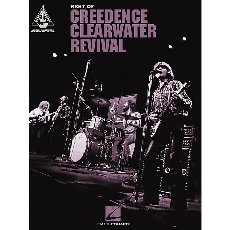 Hal LeonardThe Best of Creedence Clearwater Revival Guitar Tab Songbook