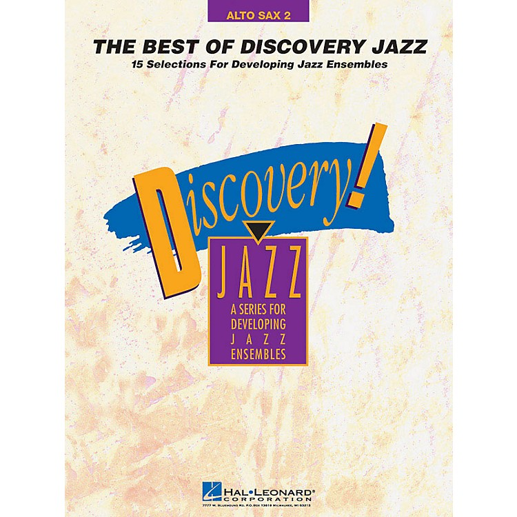 Hal Leonard The Best of Discovery Jazz (Alto Sax 2) Jazz Band Level 1-2 Composed by Various