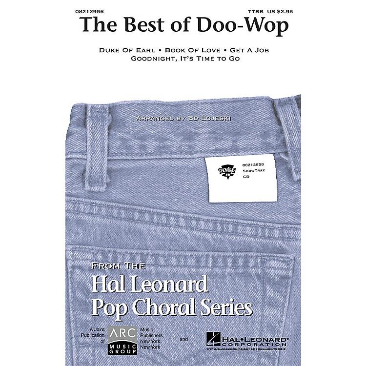 Hal LeonardThe Best of Doo-Wop (Medley) (Men's) TTBB arranged by Ed Lojeski