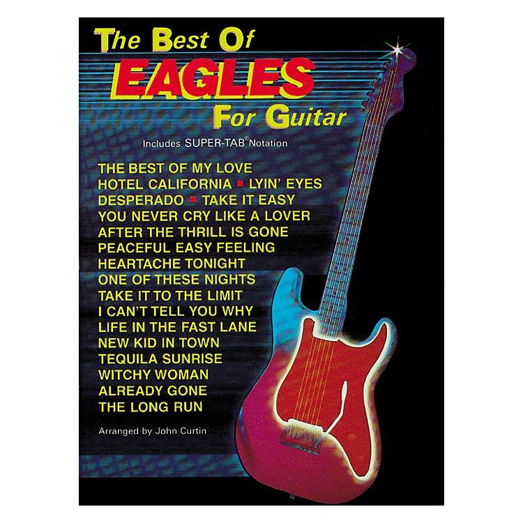 Hal LeonardThe Best of Eagles Guitar Tab Book