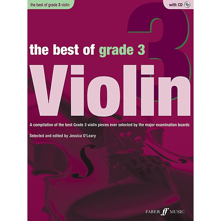 Faber Music LTD The Best of Grade 3 Violin Book & CD
