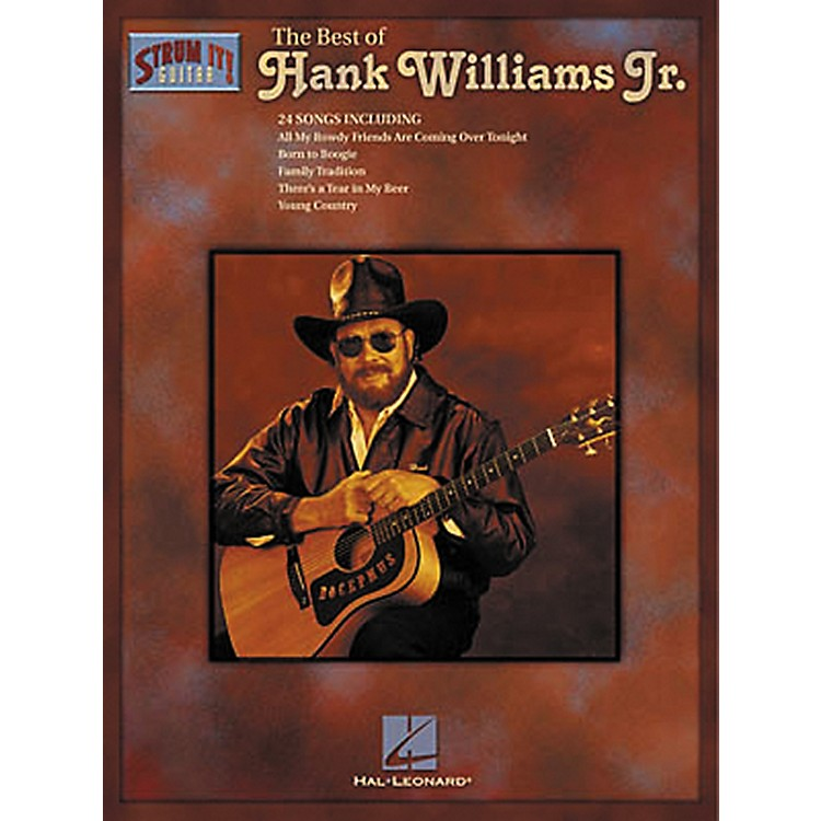 Hal LeonardThe Best of Hank Williams Jr. Guitar Tab Songbook