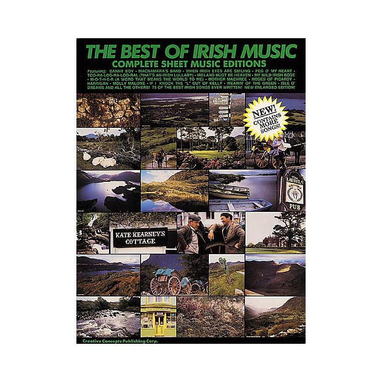 Creative ConceptsThe Best of Irish Music (Songbook)