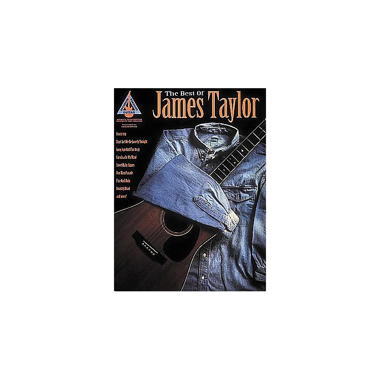 Hal Leonard The Best of James Taylor Guitar Tab Book