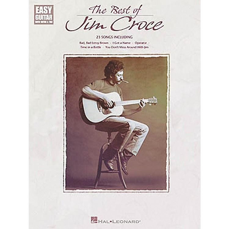 Hal LeonardThe Best of Jim Croce Easy Guitar Book