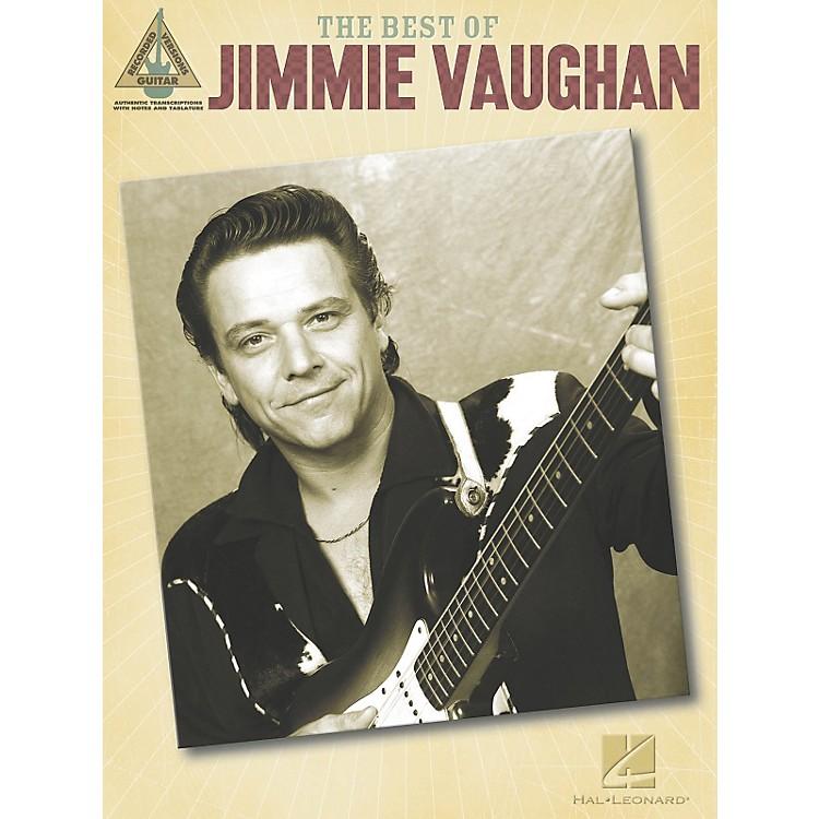 Hal LeonardThe Best of Jimmie Vaughan Guitar Tab Songbook