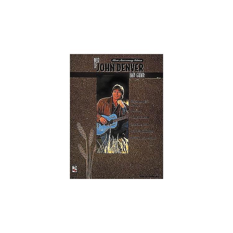 Cherry LaneThe Best of John Denver Easy Guitar Book