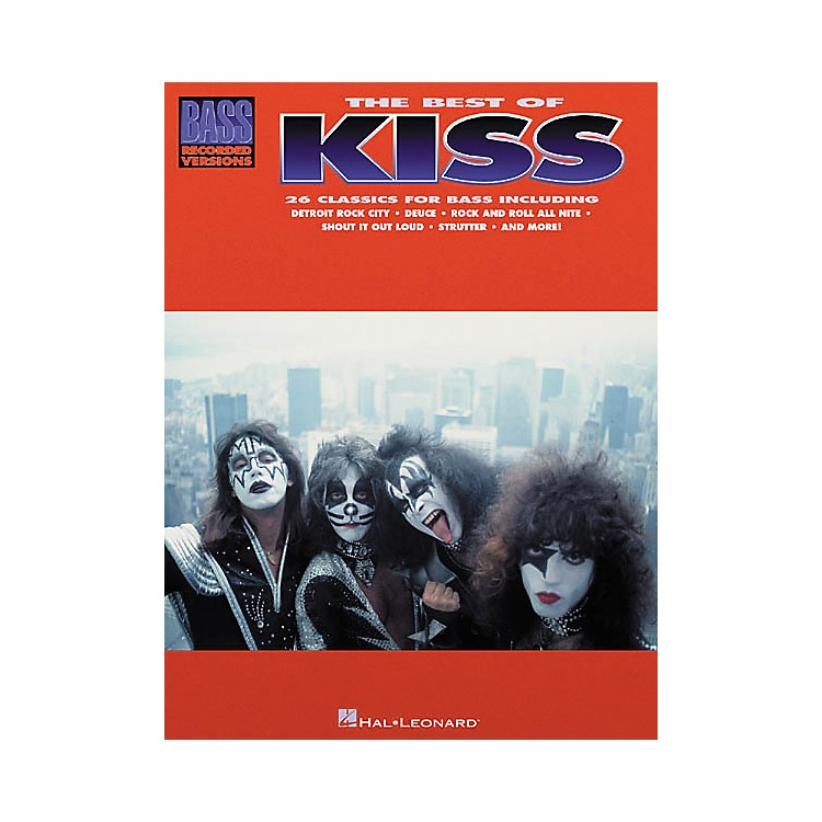 Hal LeonardThe Best of Kiss Bass Guitar Tab Songbook