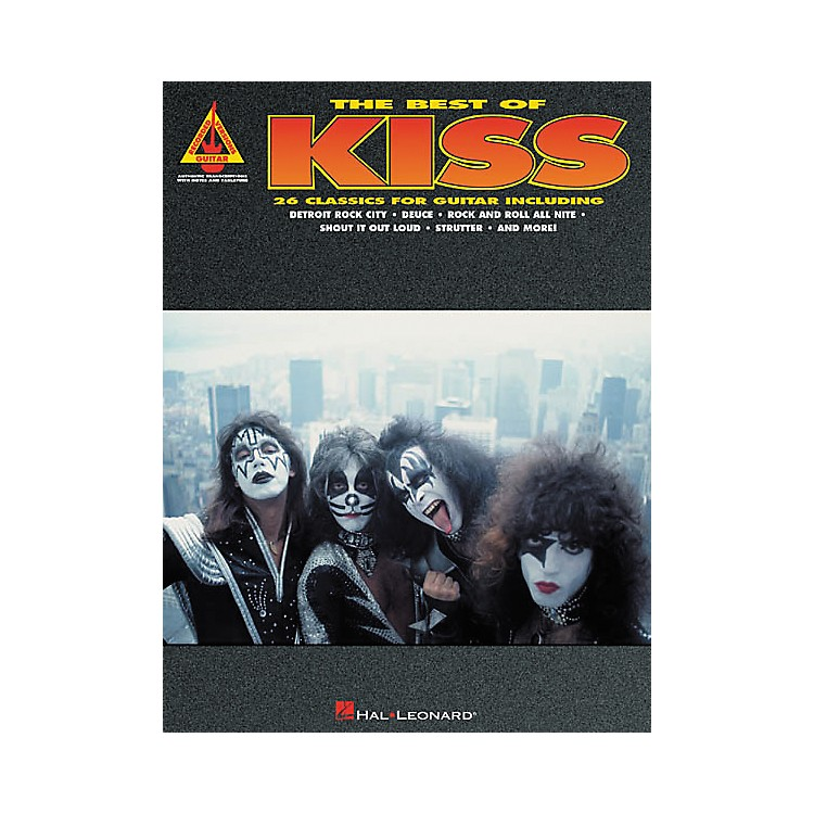 Hal LeonardThe Best of Kiss Guitar Tab Songbook