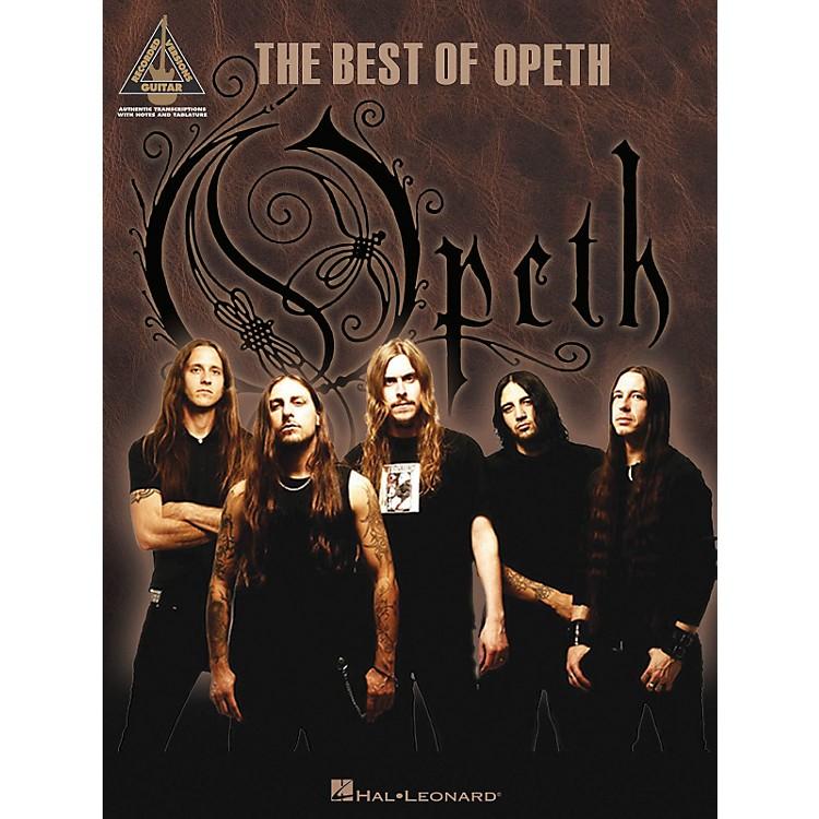 Hal LeonardThe Best of Opeth Guitar Tab Songbook
