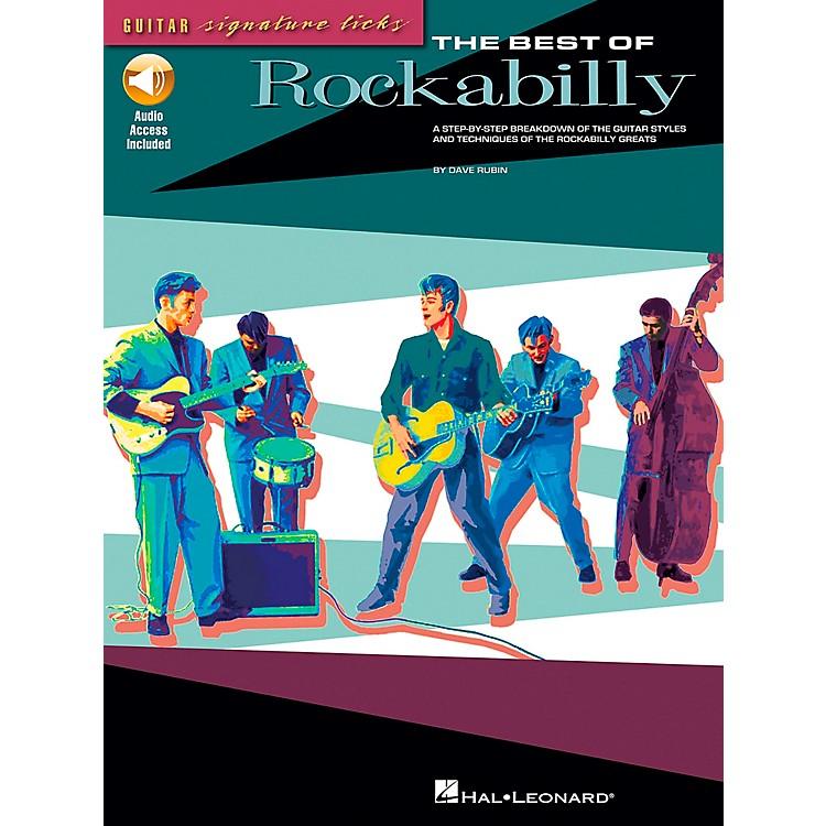 Hal LeonardThe Best of Rockabilly (Book/CD)