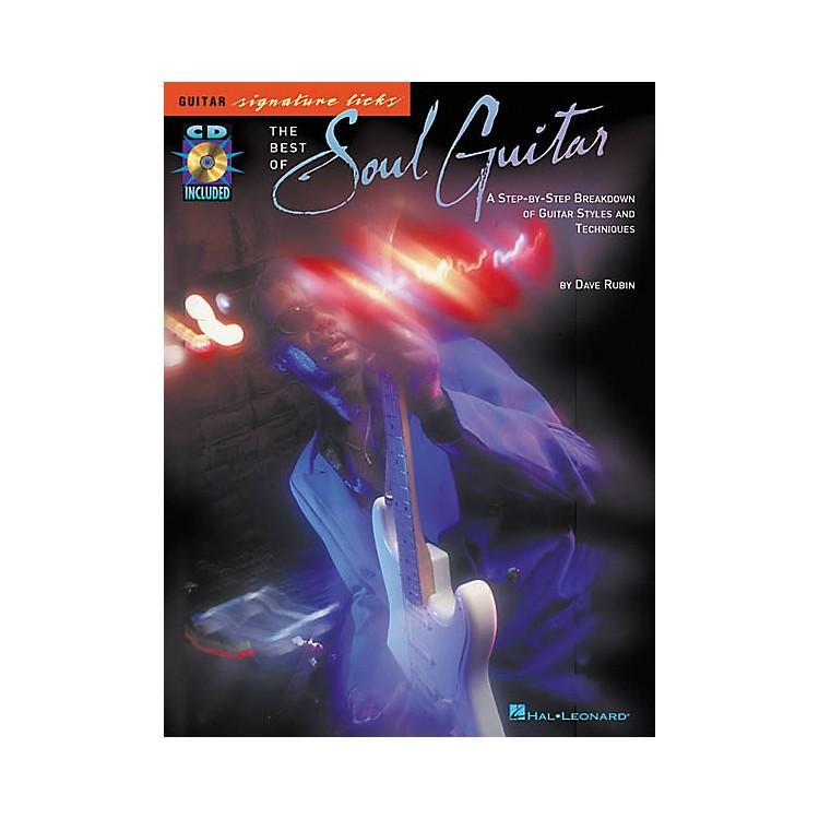 Hal LeonardThe Best of Soul Guitar Signature Licks Book with CD