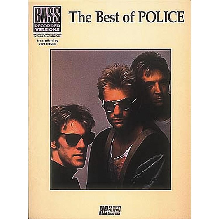 Hal LeonardThe Best of The Police Bass Guitar Tab Songbook