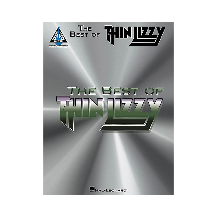 Hal Leonard The Best of Thin Lizzy Guitar Tab Songbook