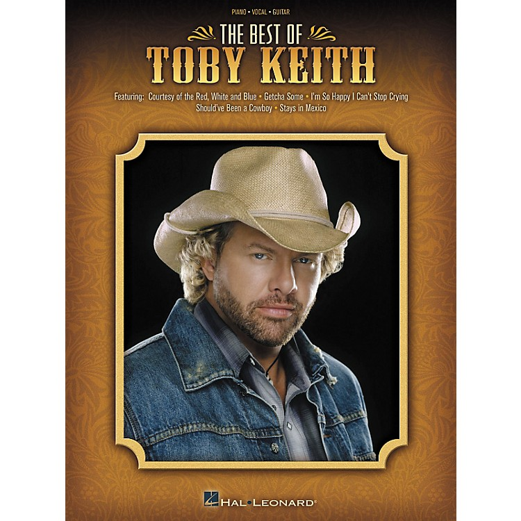 Hal LeonardThe Best of Toby Keith Piano, Vocal, Guitar Songbook